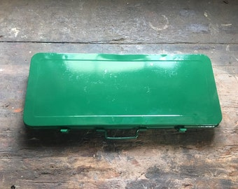 Restored 1960's tool tin