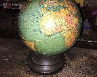"""1940's 8"""" REPLOGLE Globe"""
