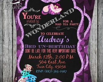 Unbirthday Invitation Etsy