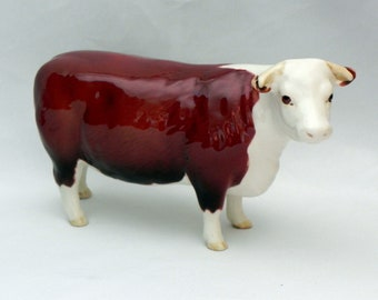Beswick  Hereford COW *CH. of CHAMPIONS* #1360 - Excellent!