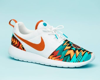 576fd65bcdbbf Nike Aztecan Print gym shoes edition custom hand made all sizes mens    womens   children