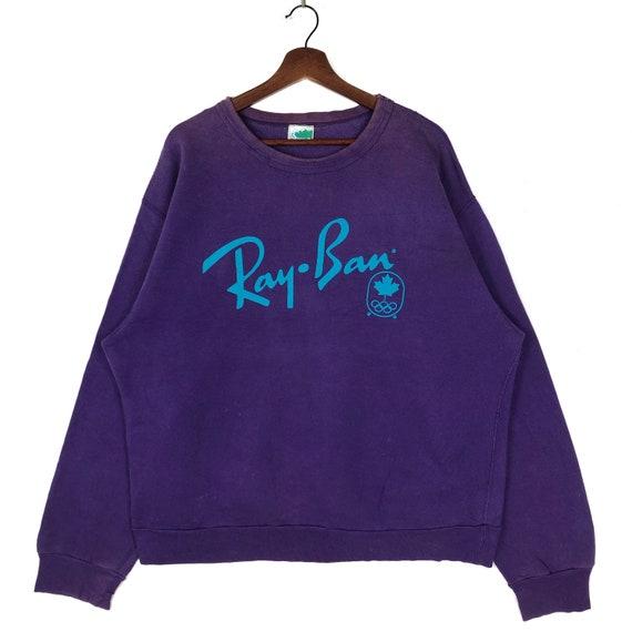 Vintage Rayban Sweatshirt Crewneck Rayban Olympic