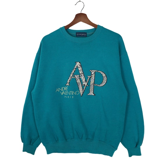 Vintage Andre Valentino Sweatshirt Crewneck Big Lo