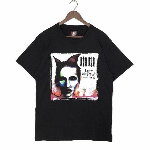 Vintage Marilyn Manson Against All Gods T-Shirt Ma