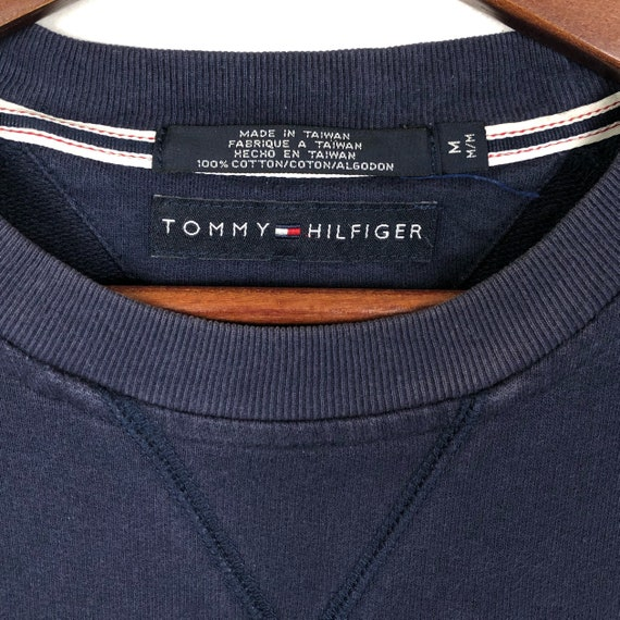 Vintage Tommy Hilfiger Crewneck Sweatshirt Tommy … - image 5