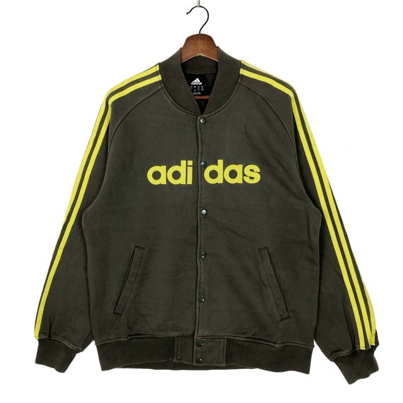 Vintage Adidas Sweatshirt Snap Button Sweatshirt A