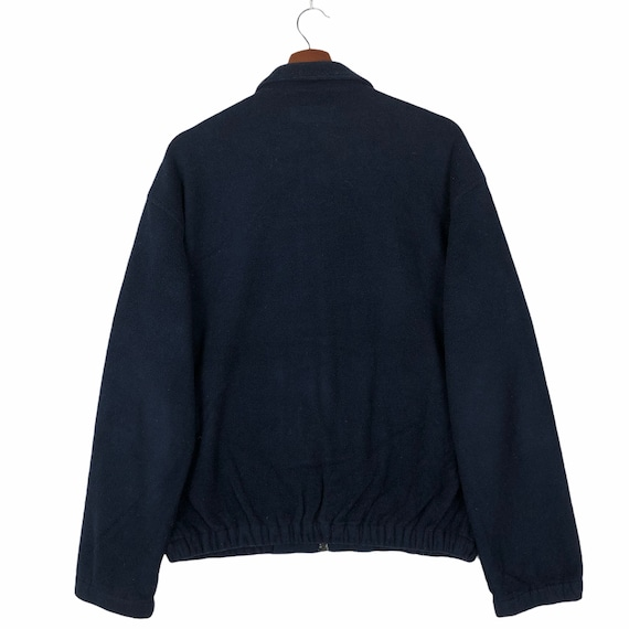 Vintage 90's Polo Sport Zip Up Fleece Jacket Polo… - image 2