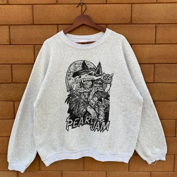 Vintage 90's Pearl Jam Sweatshirt Crewneck Pearl J