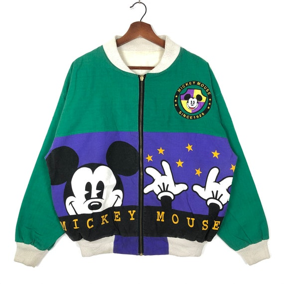 Vintage Disney Mickey Mouse Reversible Jacket Full