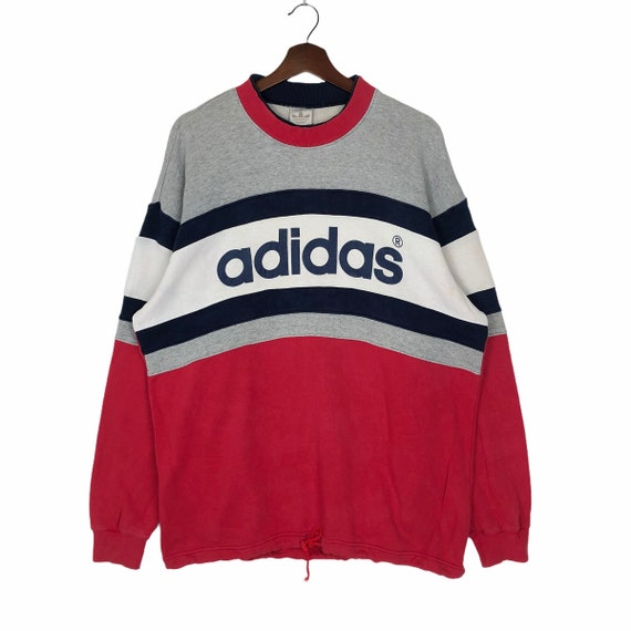 Vintage 90's Adidas Multicolored Sweatshirt Pullov