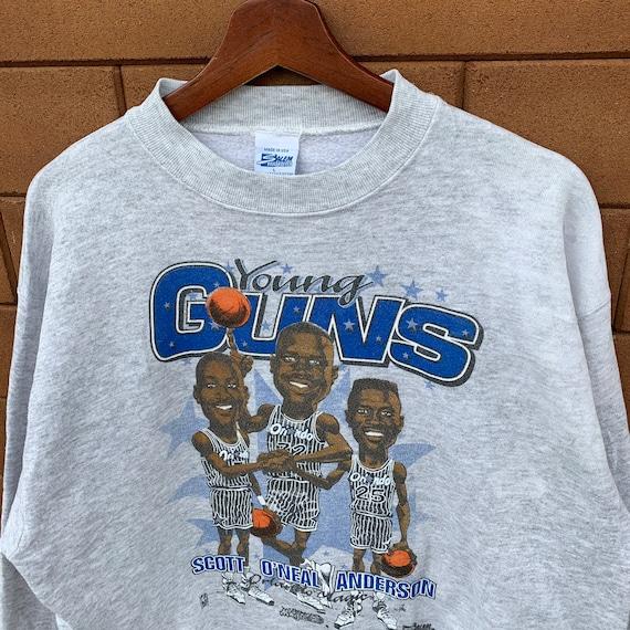 Vintage 90's NBA Orlando Magic Sweatshirt Crewnec… - image 3