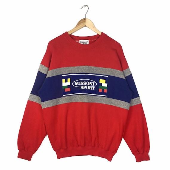 Vintage Missoni Sport Sweatshirt Crewneck | Colour