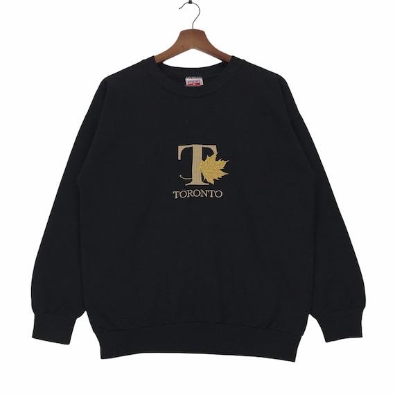 Vintage 90s Toronto Canada Sweatshirt Emboridery S