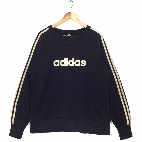 Rare Adidas Sweatshirt Side Stripe Sweatshirt Adid