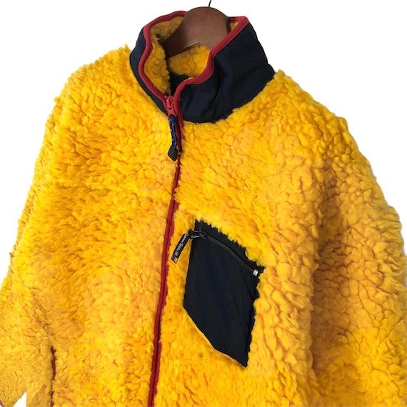 Vintage Famous Trails Fleece Jacket Deep Pile Fle… - image 4