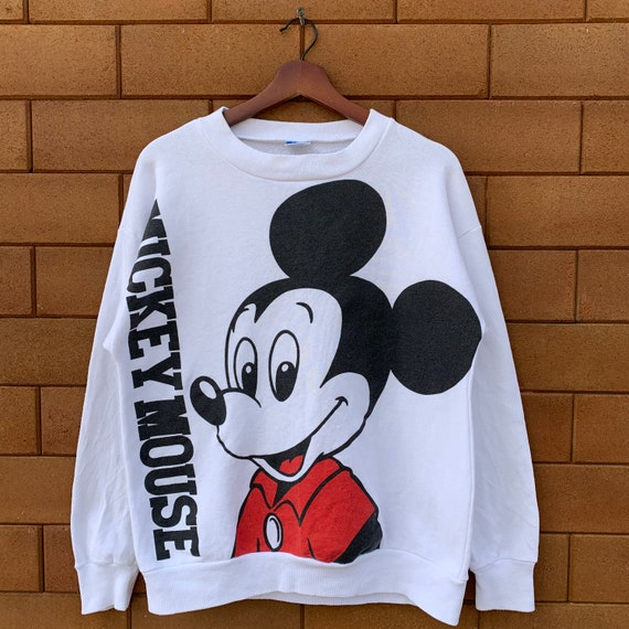 Vintage 80's Disney Mickey Mouse Sweatshirt Crewne