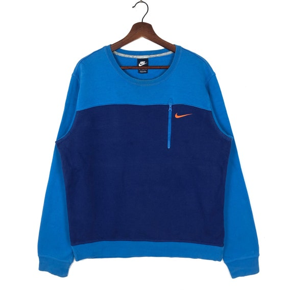 Amazing Nike Sweatshirt | Nike Colors Block Single