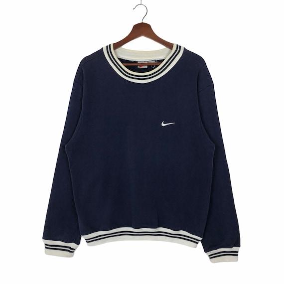 Vintage 90's Nike Swoosh Sweatshirt Nike Ringer Sw