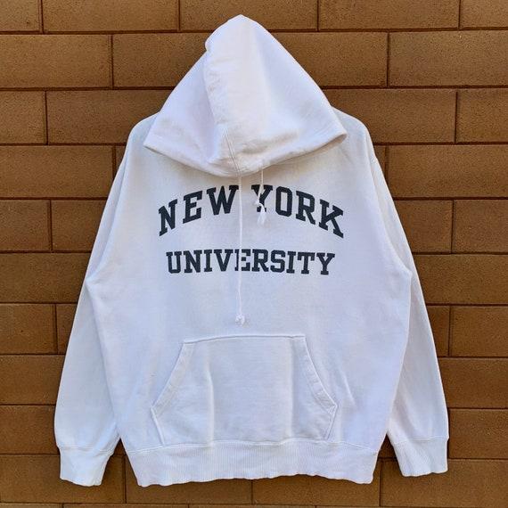 Vintage New York University Hoodie Sweatshirt New