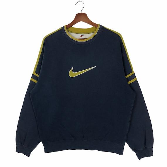Nike Vintage Sweatshirt Crewneck Nike Swoosh Embro