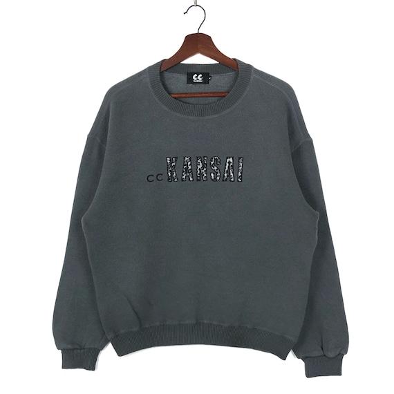Vintage Kansai Yamamoto Crewneck Sweater Embroider