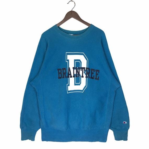 Vintage 80s Braintree High School Reverse Weave Sw