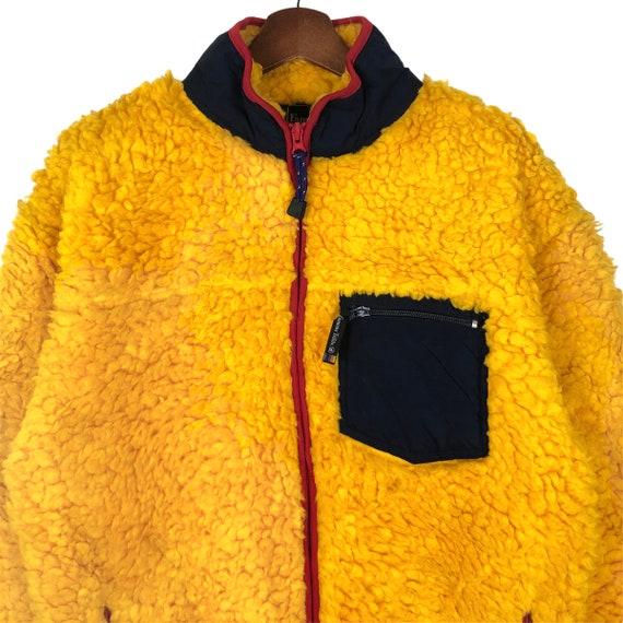 Vintage Famous Trails Fleece Jacket Deep Pile Fle… - image 3