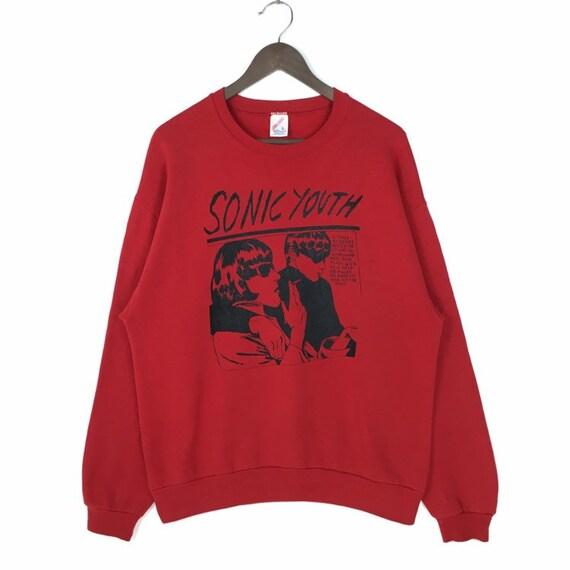 Vintage 90s Sonic Youth Sweatshirt Sonic Youth Goo