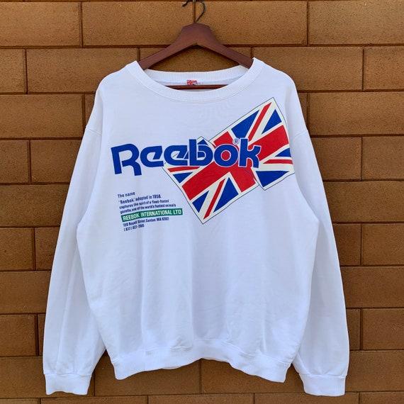Vintage 90's Reebok Sweatshirt Crewneck Reebok Uni