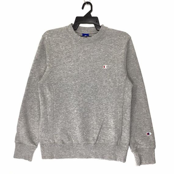 Vintage Champion Crewneck Sweatshirt Champion Grey