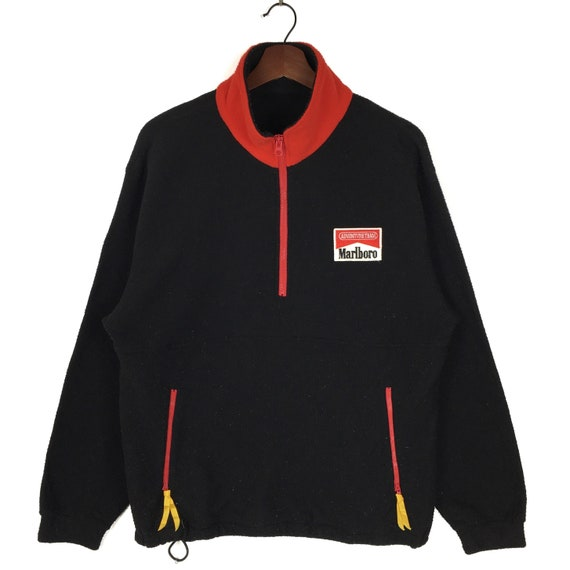 Vintage Marlboro Adventure Team Half Zipper Fleece