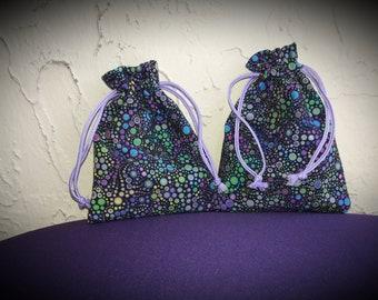 Twin Mini drawstring bags