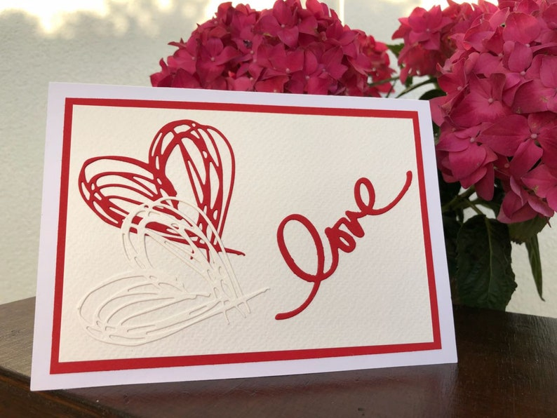 Congratulatory card to the wedding
