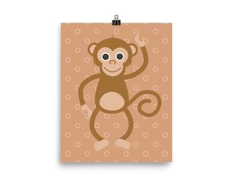 Cheeky monkey print