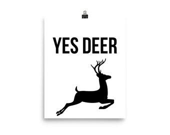 Yes deer print