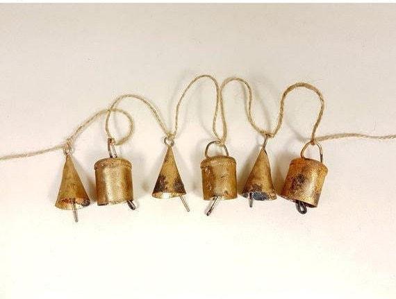 Mini Wind Chime Ferme Vache Animal Carillon mignon en bois Vache Carillon