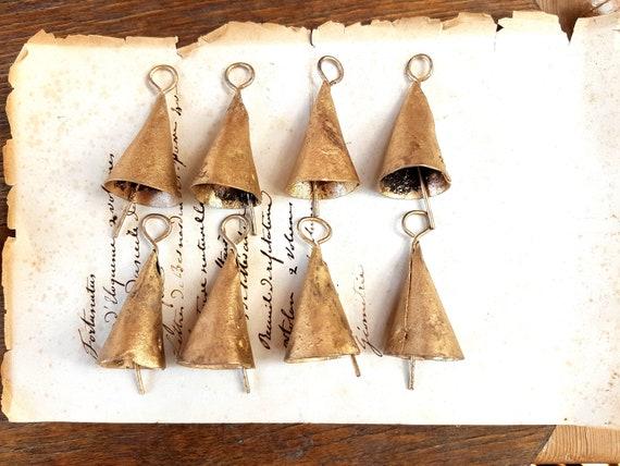 8 Brass Bells Cow Bells Cattle Bell Wedding Bell Favors Etsy