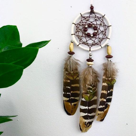 Dream catcher - wall decor Dreamcatcher - gift - Doka dreamcatchers - dreamcatcher - feather pheasant - car mirror