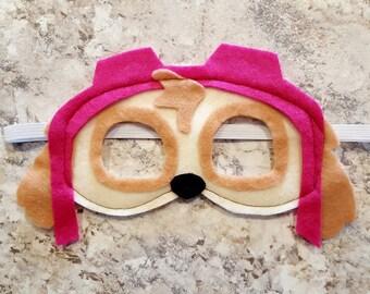 Skye Paw Patrol Soft & Durable Kids Felt Masks