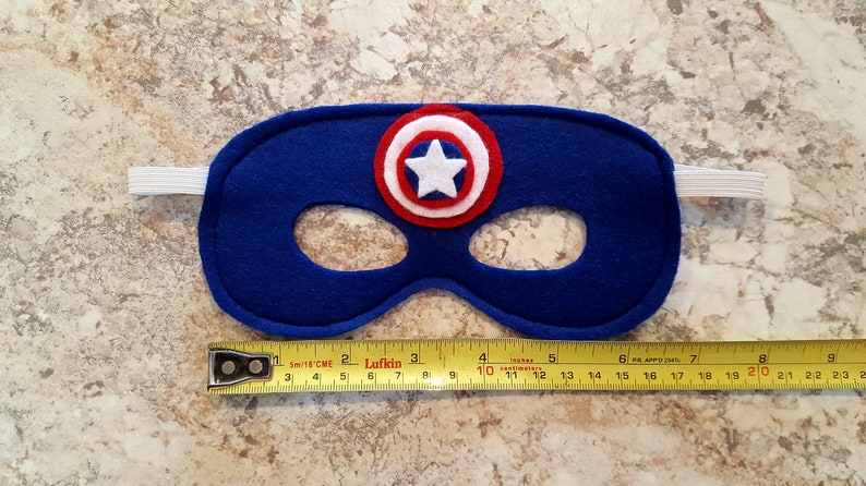 Captain America Kids Felt Masks 4 Pack