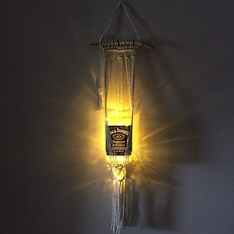 Macrame lantern