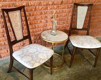 1960s-era Parisian CaneBack Chairs