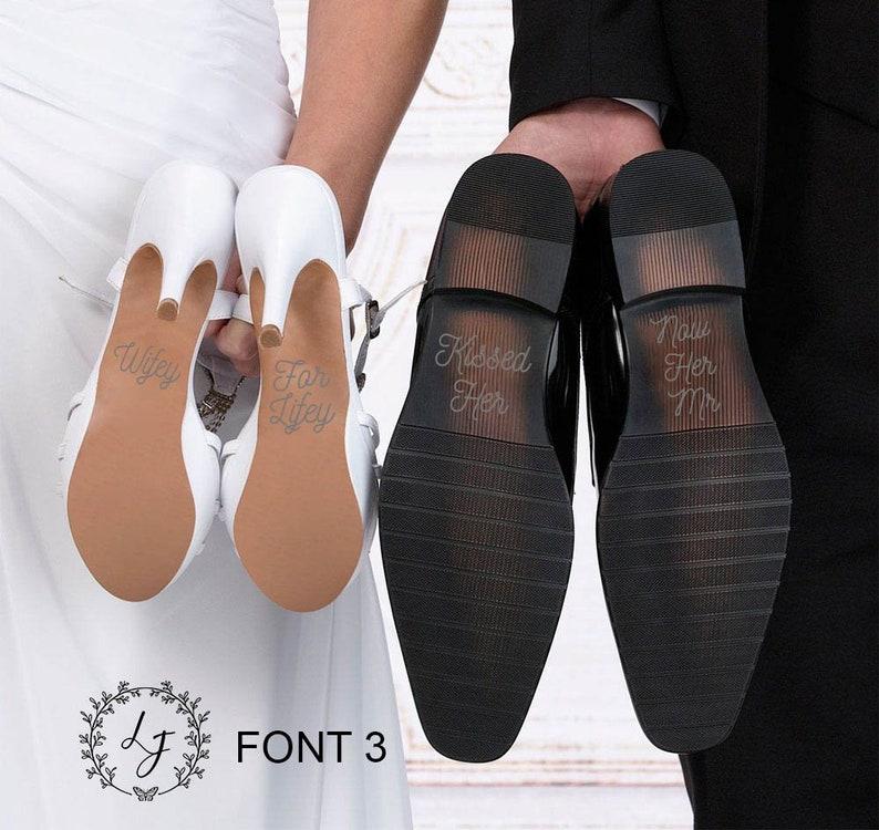 22b904cb160 Wifey for Lifey Bridal shoe decals