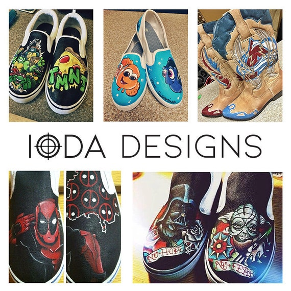 5b9439557ae20 Hand Painted & Custom Made Shoes by IODA Designs