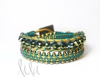 Wrap bracelet - Cleo