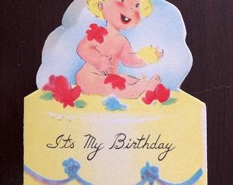Vintage Childs Birthday Invitations 10