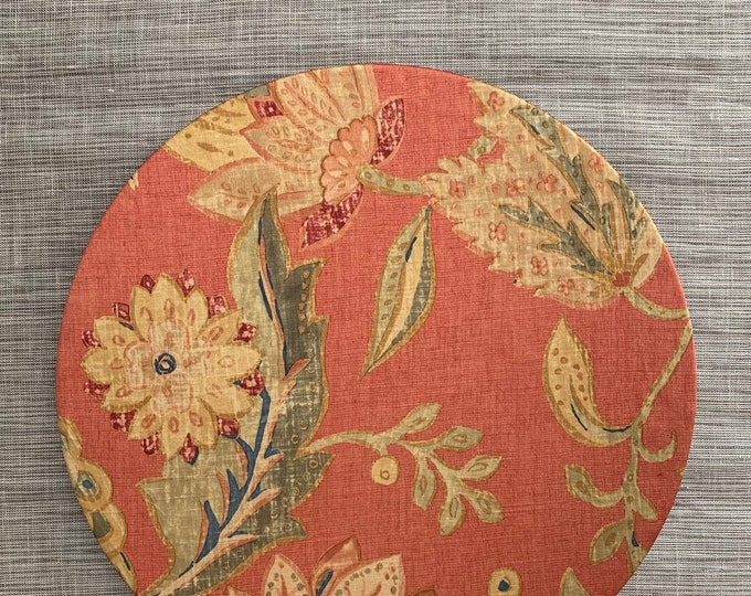 """Sunset Garden Charger Plate Cover 13""""