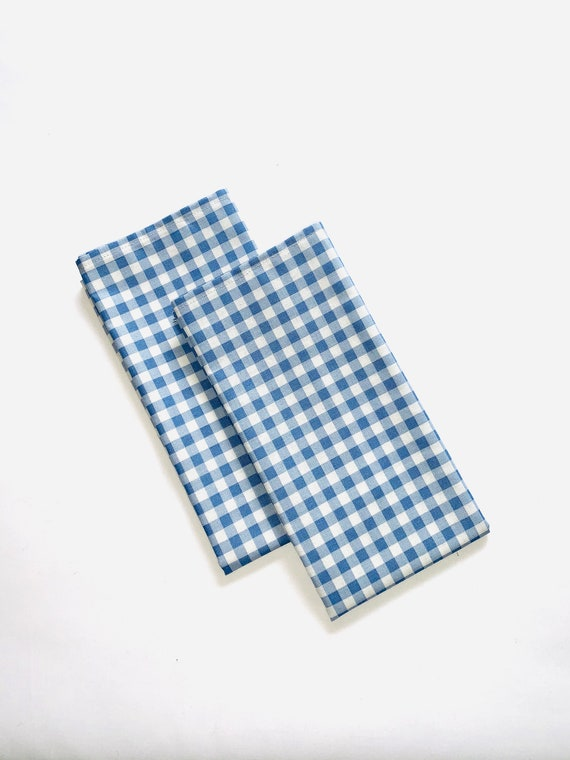 """Blue napkins
