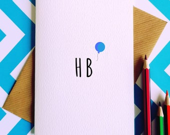 Birthday Wanker Greetings Card Inbetweeners Card Birthday Etsy