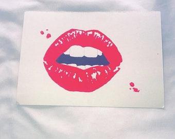Pink Lips - Original